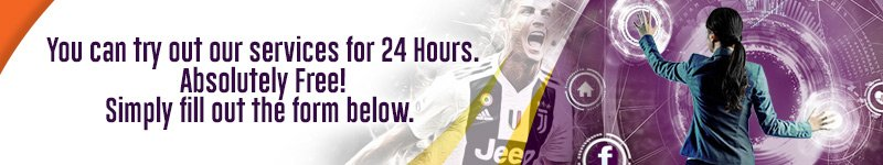 Try for 24 hours. Absolutely free. T&Cs apply